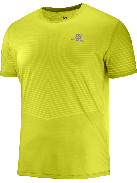 Salomon Sense - Camiseta Running Hombre - amarillo